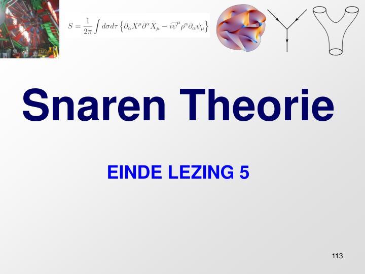 Snaren Theorie