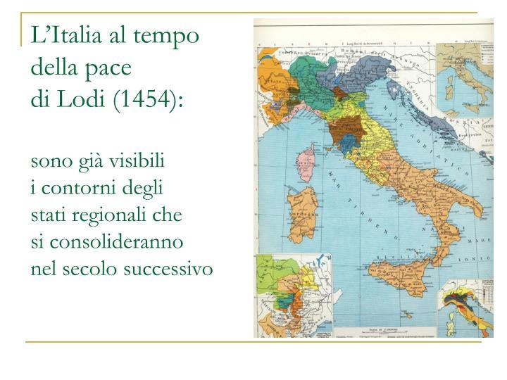 L'Italia al tempo