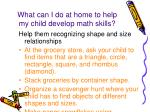 what can i do at home to help my child develop math skills1
