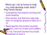 what can i do at home to help my child develop math skills4