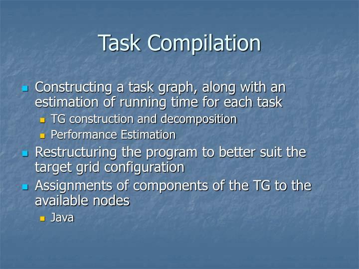 Task Compilation