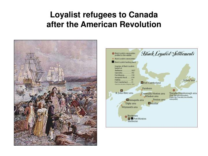 canadian identity and the loyalist myth Canadians are about to celebrate the 200th anniversary of the  based their  identity and their status on being the descendants of loyalists and.