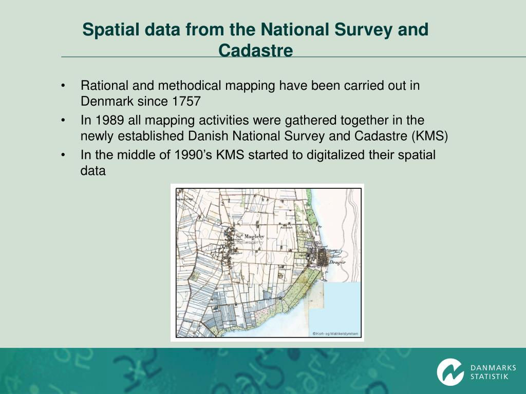 Ppt Access To And Use Of Spatial Data From The National Survey