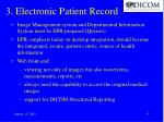3 electronic patient record