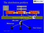 the distribution problem