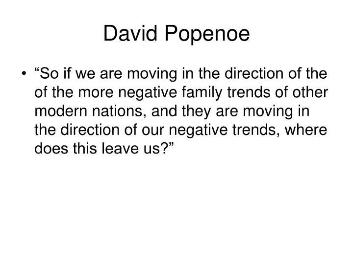 David Popenoe