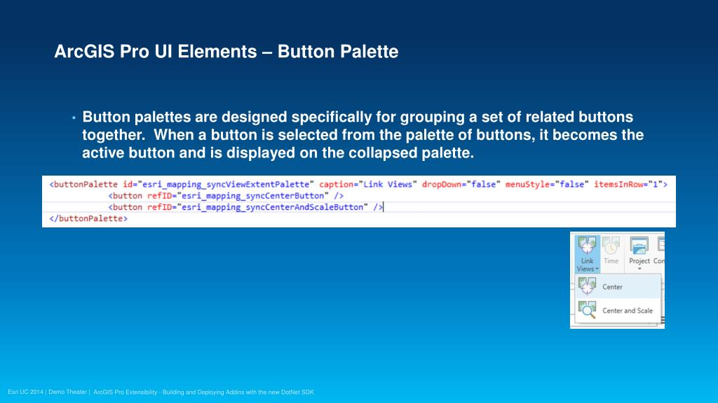 PPT - ArcGIS Pro Extensibility - Building and Deploying