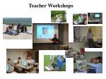 teacher workshops