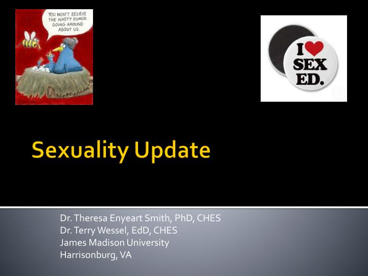 dr theresa enyeart smith phd ches dr terry wessel edd ches james madison university harrisonburg va