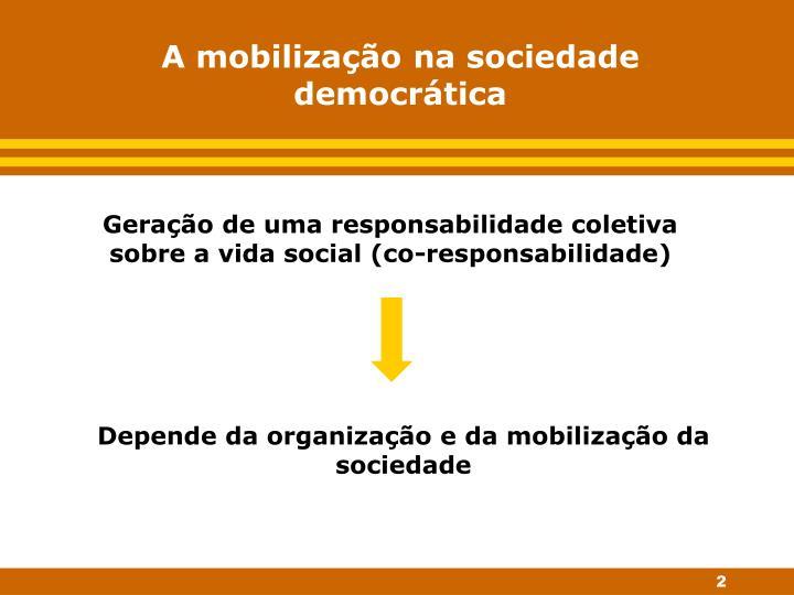 A mobilização