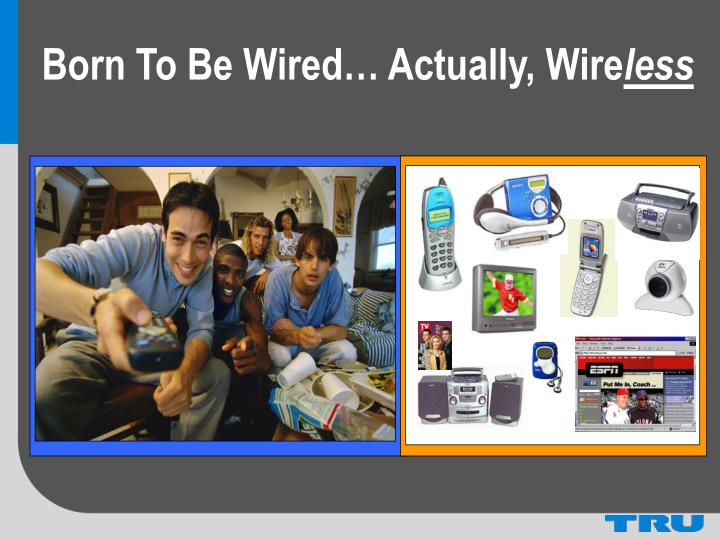 Born To Be Wired… Actually, Wire