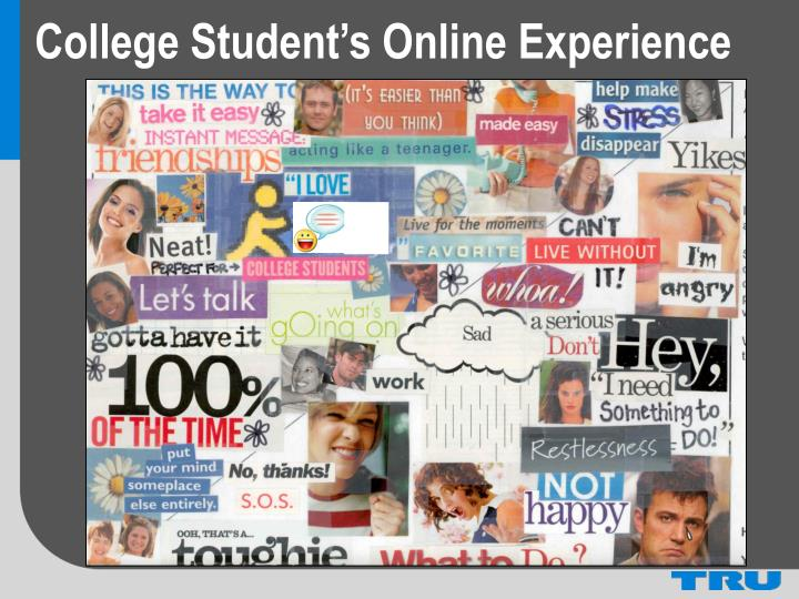 College Student's Online Experience
