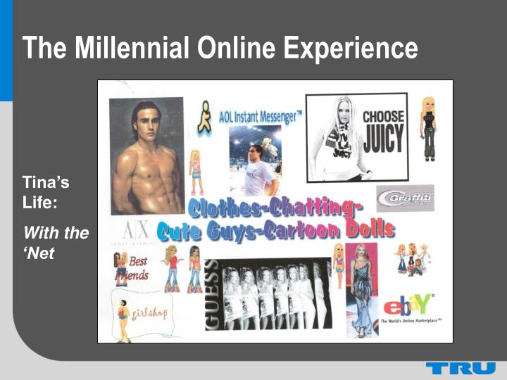The Millennial Online Experience