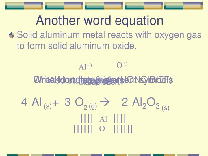 Another word equation