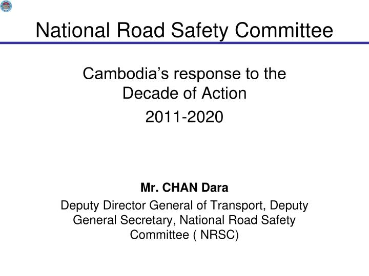 national road safety committee n.