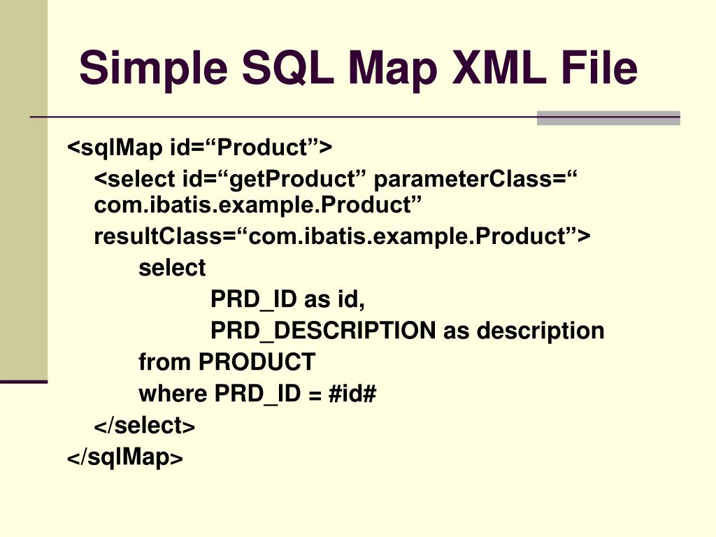 PPT - iBATIS Framework PowerPoint Presentation - ID:3722011