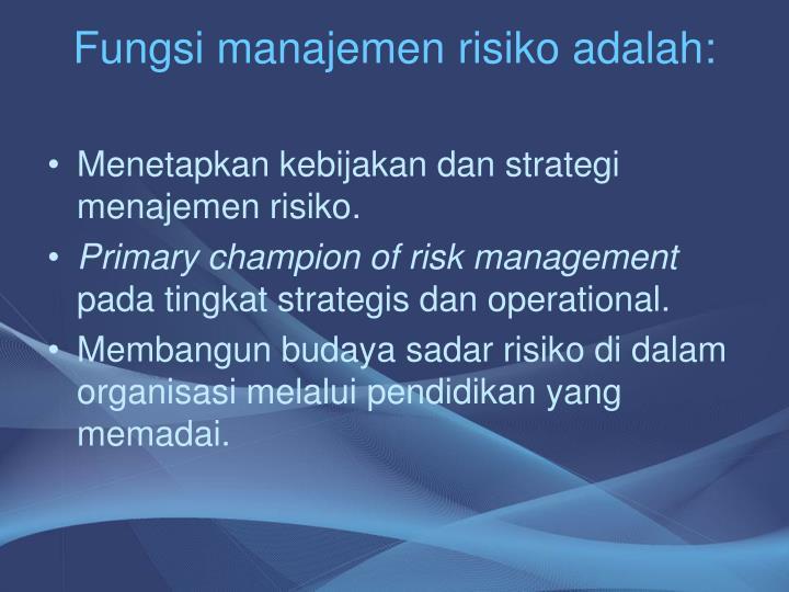 manajemen strategi dan kebijakan bisnis Strategi bisnis ini sering juga disebut strategi bisnis secara fungsional, karena strategi berorientasi pada fungsi-fungsi kegiatan manajemen, misalnya strategi pemasaran, strategi produksi atau strategi operasional, strategi distribusi, strategi organisasi, dan strategi-strategi yang berhubungan dengan keuangan.