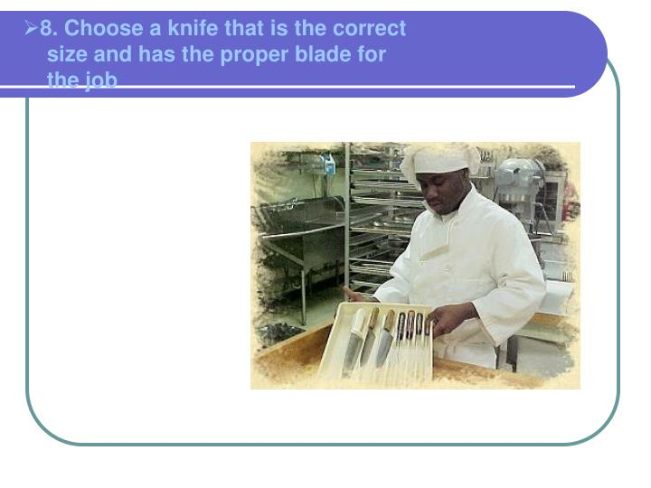8. Choose