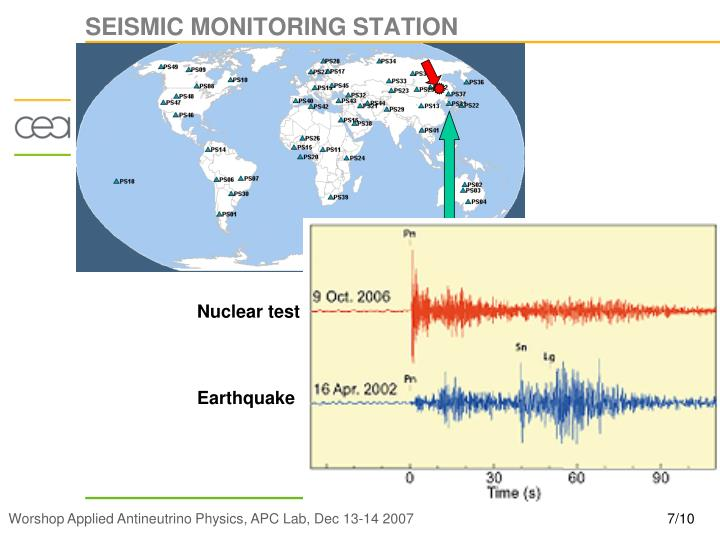 SEISMIC MONITORING STATION