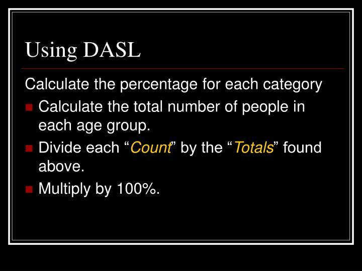Using DASL