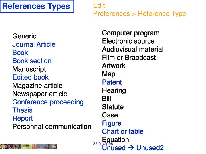 References Types