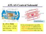 atlas central solenoid