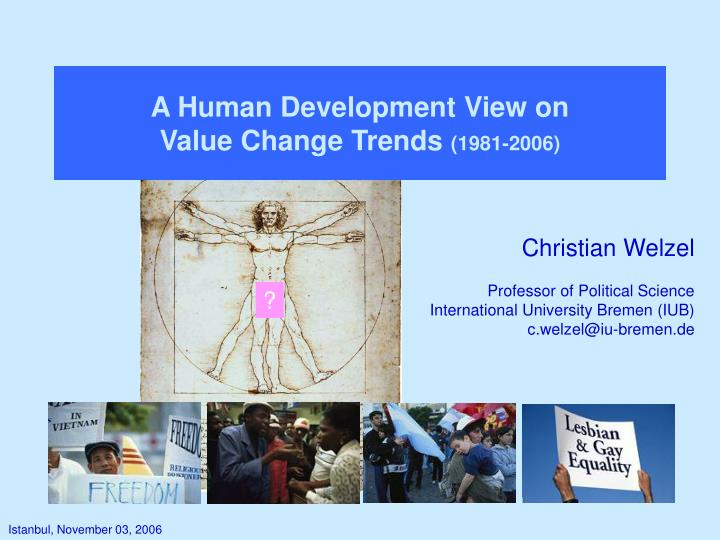 A Human Development View on