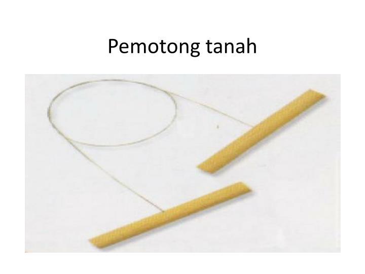 Pemotong