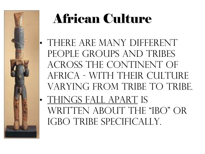 african culture in things fall apart