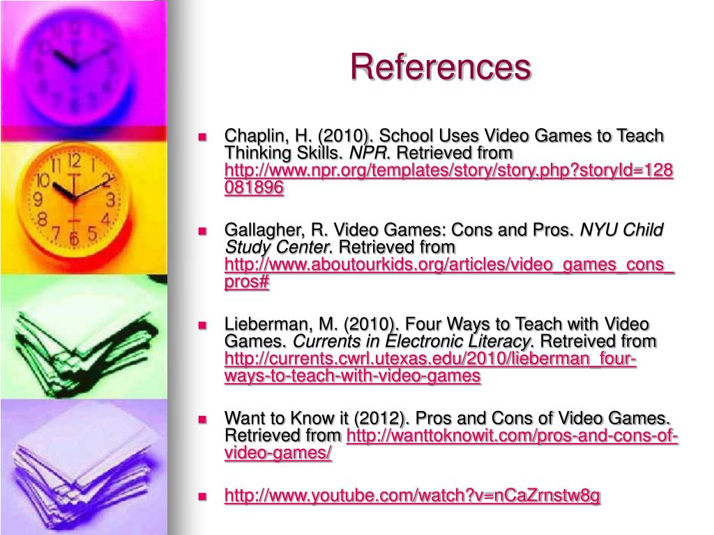 PPT - Teaching with Video Games PowerPoint Presentation - ID:3723435