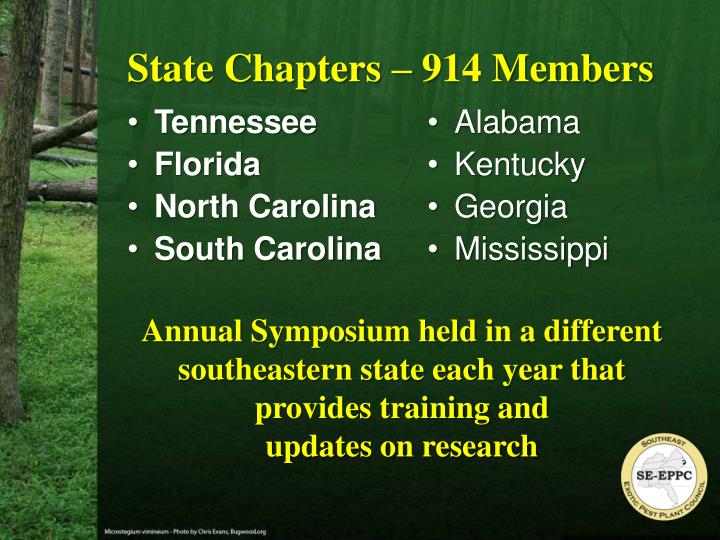 State Chapters – 914 Members