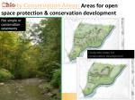 priority conservation areas areas for open space protection conservation development