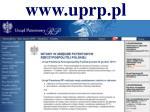 www uprp pl