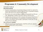 programme 4 community development2