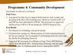 programme 4 community development4