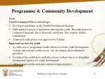 programme 4 community development7