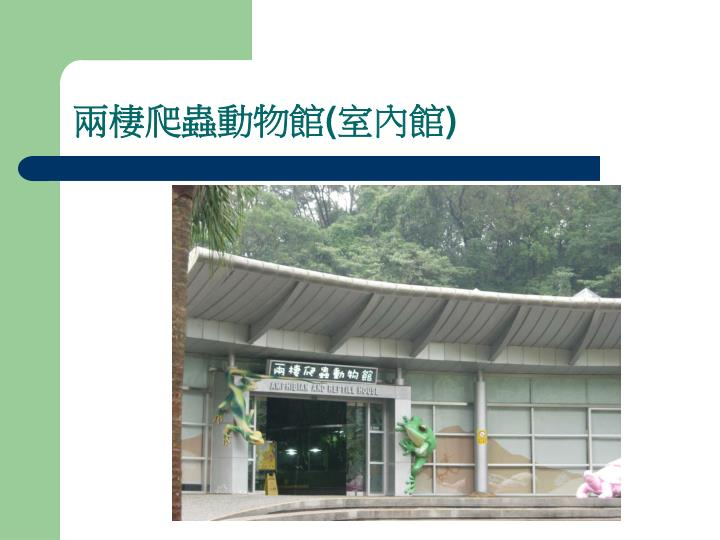 兩棲爬蟲動物館