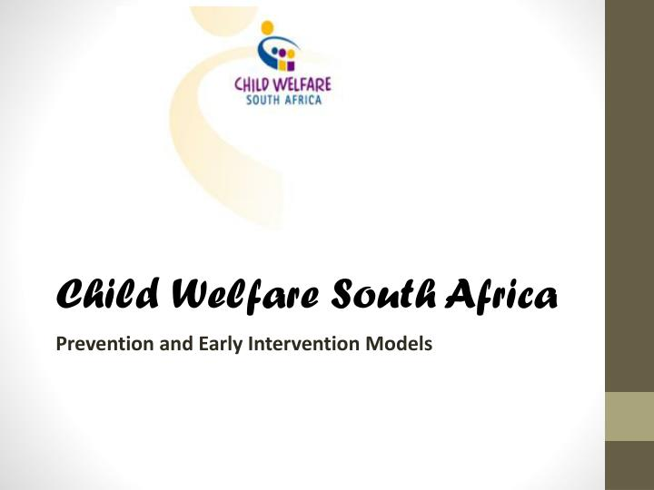 child welfare south africa n.