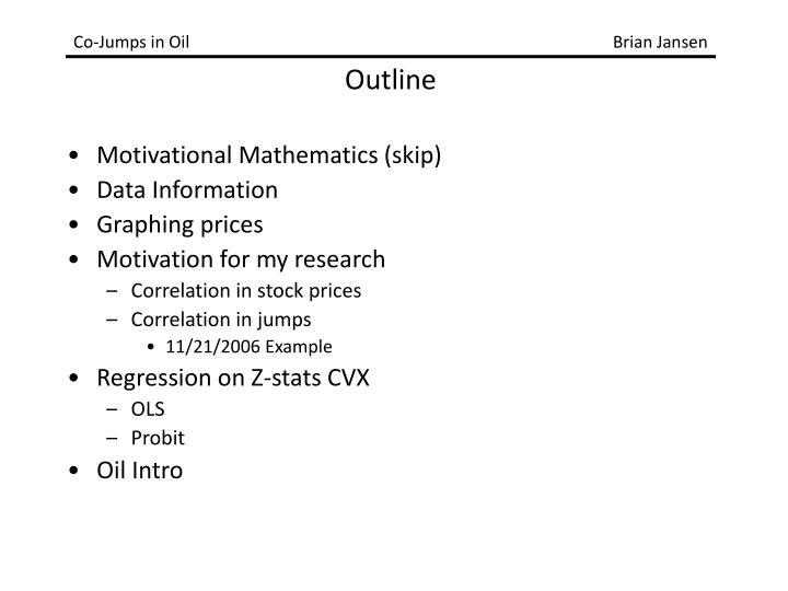 Motivational Mathematics (skip)