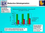 reductive dehalogenation