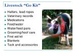 livestock go kit
