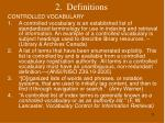 2 definitions