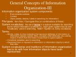 general concepts of information organization iii