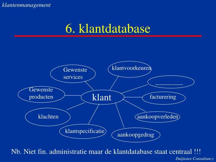 klantenmanagement