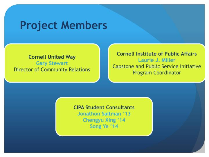 Project members