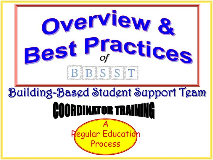 building based student support team n.