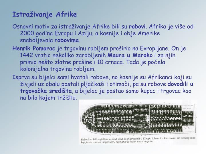 Istraživanje Afrike