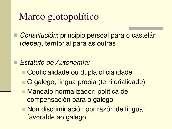 Marco glotopolítico