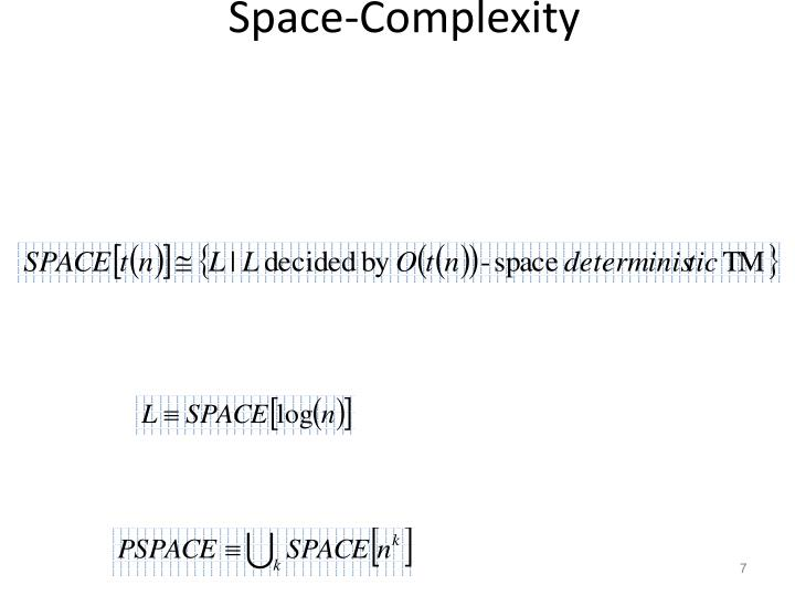 Space-Complexity