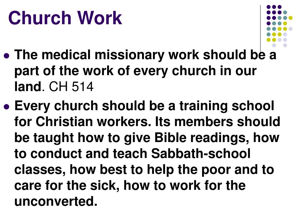 PPT - Medical Missionary Work PowerPoint Presentation - ID
